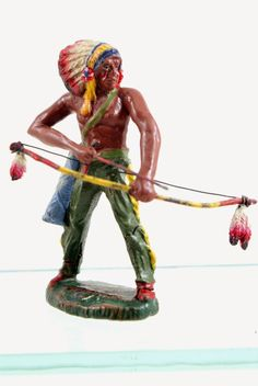 MTSC's News From The Front: FIGURE OF THE WEEK #73: Elastolin Composition Indian Conversion