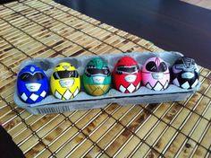 Power ranger eggs