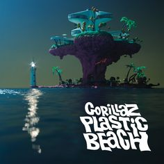 All Rights Reservde by Gorillaz Artist: Gorillaz Feat. Little Dragon Song: Empire Ants Album: Plastic Beach Music Album Covers, Music Albums, Music Wall, Art Music, Pink Floyd, Gorillaz Plastic Beach, Gorillaz Albums, Poster Wall, Poster Prints