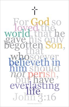 Gallery Delany: Bible Art Collection Another wonderful verse from John...this from John 3:16 is currently available. ...An excellent way to spruce up your walls, home, apartment, condo, getaway: - Mou