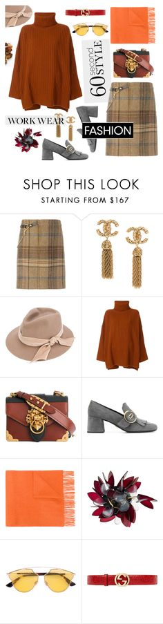 """""""Work Wear"""" by hellodollface ❤ liked on Polyvore featuring Ralph Lauren, CA4LA, Joseph, Prada, N.Peal, NARS Cosmetics, Marni, Christian Dior, Gucci and Chico's"""