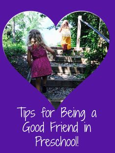 Making new friends in preschool is sometimes scary! Join us for tips for helping your preschoolers learn to BE a good friend! Social Emotional Development, Character Development, Personal Development, Classroom Activities, Preschool Activities, Make New Friends, Best Friends, Preschool Friendship, Pyramid Model
