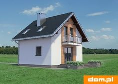DOM.PL™ - Projekt domu AN KRASNAL CE - DOM AO10-85 - gotowy koszt budowy Design Case, Home Fashion, House Plans, Shed, Outdoor Structures, Cabin, House Styles, Home Decor, Modern