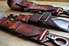 Mens Leather suspenders Men's suspenders by JKLeatherWorkshop