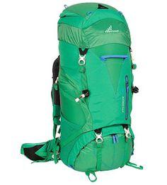 Blue large hiking backpack
