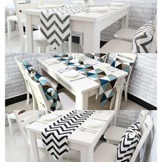 Cheap table runner, Buy Quality decoration table runner directly from China table runner black Suppliers: 1 PCS Table Runners Geometric Wave Lattice Print Canvas Cotton Ribbon Rustic Home Decoration Table Runners Black White Grey Cheap Table Runners, Decor Interior Design, Interior Decorating, Dining Table Cloth, Christmas Party Table, Decoration Table, Table Covers, Home Textile, Home Accessories