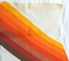 1970s Curtain 70s Kitchen Curtain Yellow by TheWellDressedWindow, $45.00