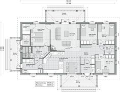 Simple House Plans, Humble Abode, Bungalow, Sweet Home, House Ideas, Floor Plans, Flooring, How To Plan, Photography
