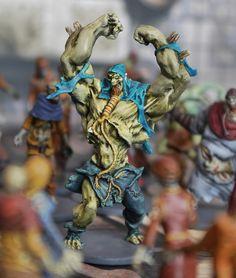 Abomination. Komisches Modell im Spiel. Entweder man kann nichts tun außer weglaufen. Oder man macht es platt wie jeden Zombie. Hm.