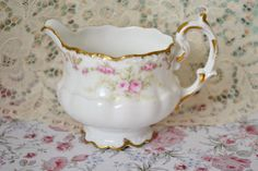 Beautiful Antique Elite Limoges Creamer