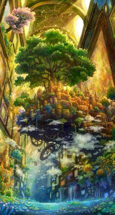 Anime paesaggio