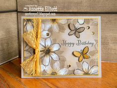 AEstamps a Latte...: Garden in Bloom Birthday