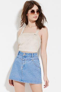 Denim Mini Skirt - Skirts - 2000151664 - Forever 21 EU English