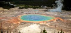 Grand Prismatic Spring, Wyoming | 29 Surreal Places In America You Need To Visit Before You Die