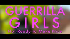 Guerrilla Girls website. For use choosing appropriate images and introducing art group to students