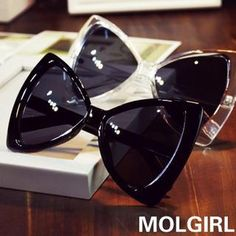 Buy 'MOL Girl – Bow Sunglasses' with Free International Shipping at YesStyle.com. Browse and shop for thousands of Asian fashion items from China and more!