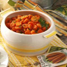 Maple-Ginger Glazed Carrots Recipe | Taste of Home Recipes