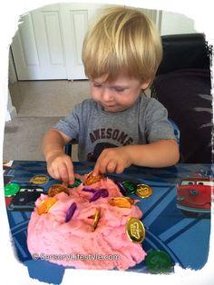 Josh and play dough