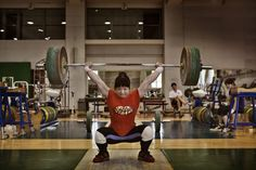 James Nachtwey's Photographs of China's Women Weightlifters