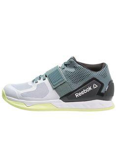 Reebok CROSSFIT COMBINE - Obuwie treningowe - teal/grey/coal/white/lemon - Zalando.pl