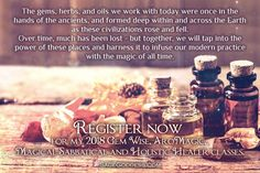 Want to learn more about Essential Oils and how they can improve your health?  Register for Holistic Healer class from Sage Goddess! I'm in those classes and I am learning so much! Click the link to learn more!