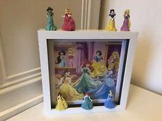 "Disney's Pretty Princess's 3D Photo Picture Frame 9"" x 9""  | eBay"