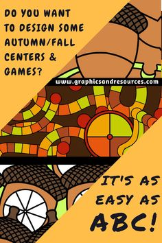 Create educational Autumn/Fall games and centers in a jiffy by using ready-made clipart templates, puzzles, spinners and more! Click through to see the vast selection of images!