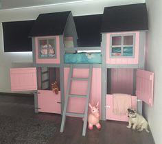 Farm bed, op maat gemaakt. Wat een mooi project om aan te mogen werken! Kijk voor meer informatie op www.no36.nl
