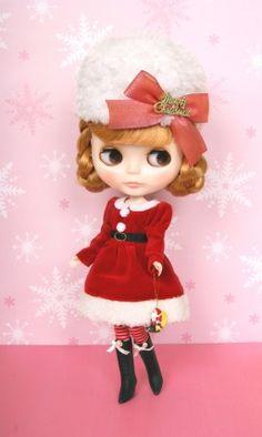 "Junie Moon ""White Christmas"" dress set"