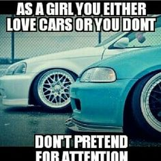 Girls need to stop acting like there about their cars when we know dam sure they don't even know shyt about it you ain't jdm because you own a fkn import lmfao