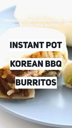 Easy Healthy Recipes, Crockpot Recipes, Cooking Recipes, Pressure Cooker Recipes, Pressure Cooking, Make Ahead Lunches, Korean Bbq, Batch Cooking, Dinner Recipes