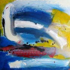 """Saatchi Art Artist Vera Komnig; Painting, """"No. 405"""" #art 3950.-$ Acrylic on canvas 80x 80 cm http://www.saatchiart.com/art/Painting-No-405/695057/2708862/view# www.verakomnig.com"""