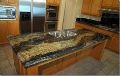 Spectrus Granite Countertops | http://www.fireplacecarolina.com