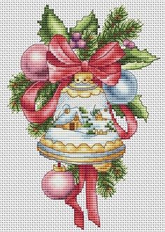 Thrilling Designing Your Own Cross Stitch Embroidery Patterns Ideas. Exhilarating Designing Your Own Cross Stitch Embroidery Patterns Ideas. Cross Stitch Christmas Ornaments, Xmas Cross Stitch, Christmas Embroidery, Christmas Bells, Cross Stitch Kits, Cross Stitch Charts, Cross Stitch Designs, Cross Stitching, Crochet Ornaments