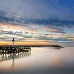 Deauville sunset by Nicolas Rottiers, via 500px