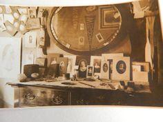 george french dorm room, bates college, ca. 1901   vintage dorm