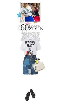 """""""60 Second Style: Graphic T-Shirts"""" by cultofsharon ❤ liked on Polyvore"""