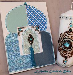 DIY crafty stuff with decoupage paper