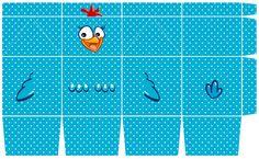caixa galinha pintadinha - Pesquisa Google