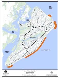 Map Of North Forest Beach On Hilton Head Island SC Lowcountry - North forest beach hilton head map