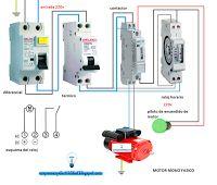 Esquemas eléctricos: Motor monofásico