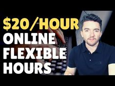 5 $20/Hour Non-Phone Work-From-Home Jobs with Flexible Hours 2021 Work From Home Careers, Video Notes, Flexibility, Phone, Telephone, Back Walkover, Mobile Phones