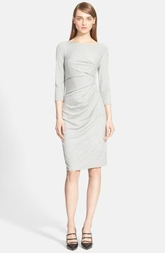 Max Mara 'Valzer' Ruched Jersey Dress available at #Nordstrom