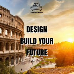 """Design Build Your Future""  #DesignQuotes #ARQcreativehouse #Design #Creative #Branding #BusinessSolution"