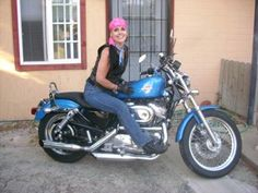 My Babes: I love my Girl, she is my first bike! I have been riding for two years on my own and I will never go back riding with someone.I have to say it is nice