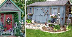 Prinášame vám sériu nápadov, na ktorých sú rôzne záhradné kôlne, z ktorých…