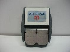 Vintage MANSFIELD 8mm DRY BUTT FILM SPLICER