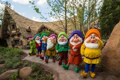 Seven Dwarfs Mine Train at Walt Disney World's Magic Kingdom now open! Disney World Resorts, Disney Parks, Disney World News, Disney Vacations, Disney Trips, Disney Worlds, Disney Travel, Family Vacations, Walt Disney World Rides