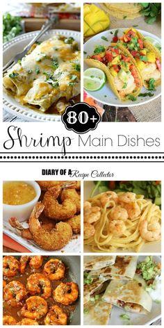 89+ Shrimp Main Dishes