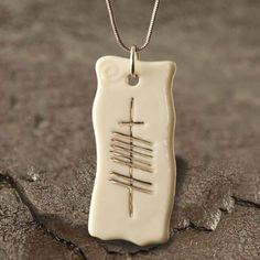 My soul friend mo anam cara handmade ogham necklace anam cara belleek ogham necklace love mozeypictures Gallery